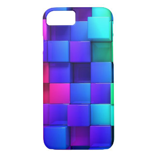 3D Color iPhone 7 Case