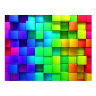 3D Color Postcard