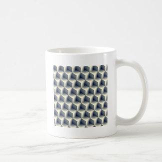 3D Cubes Pattern Coffee Mug