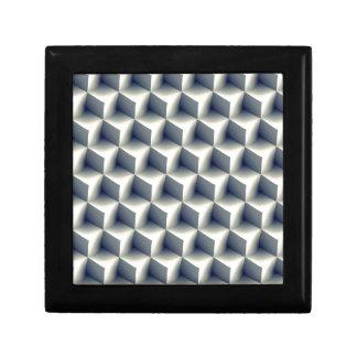 3D Cubes Pattern Gift Box