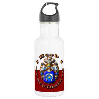 3D Czerwińskch Family Crest 532 Ml Water Bottle