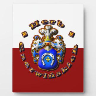 3D Czerwińskch Family Crest Plaque