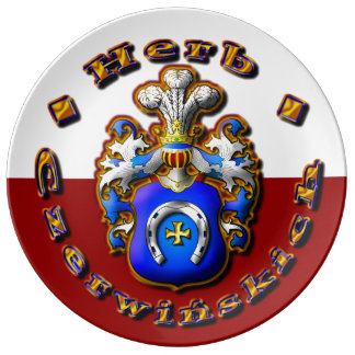 3D Czerwińskch Family Crest Plate