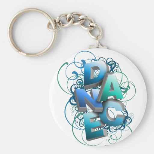 3D Dance (Spring) Key Chains