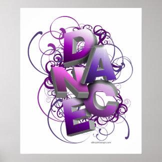 3D Dance (Summer) Poster