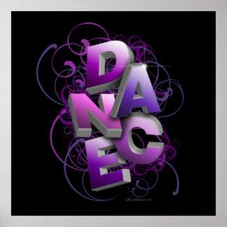 3D Dance Summer Print