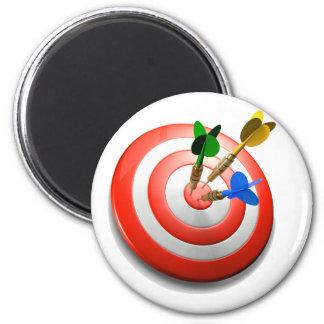 3D Darts BullsEYE Magnet