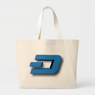 3D DASH Logo Large Tote Bag