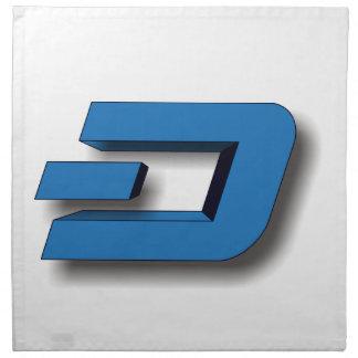 3D DASH Logo Napkin