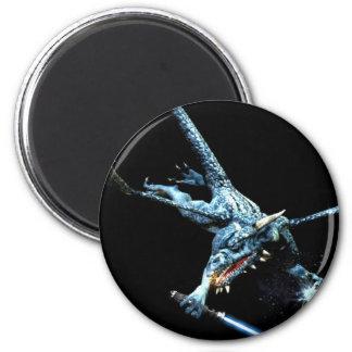 3D Dragon Jedi Fridge Magnets