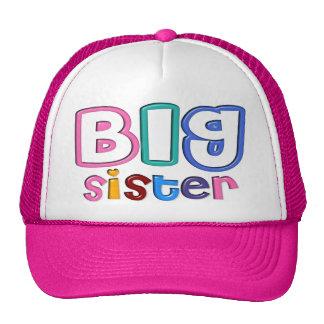3D Effect Big Sister Hat Trucker Hat