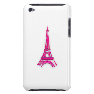 3d Eiffel tower, France clipart Barely There iPod Covers