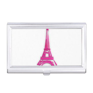 3d Eiffel tower, France clipart Business Card Holder
