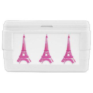 3d Eiffel tower, France clipart Chest Cooler