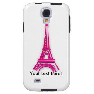 3d Eiffel tower, France clipart Galaxy S4 Case