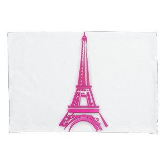 3d Eiffel tower, France clipart Pillowcase