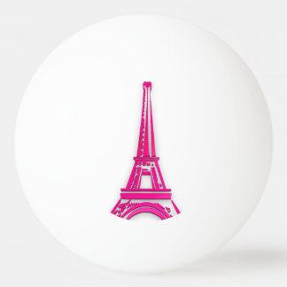 3d Eiffel tower, France clipart Ping Pong Ball