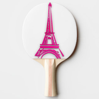 3d Eiffel tower, France clipart Ping Pong Paddle