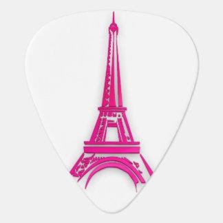 3d Eiffel tower, France clipart Plectrum