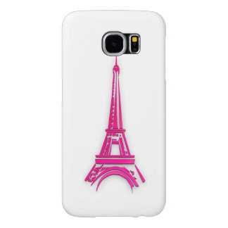 3d Eiffel tower, France clipart Samsung Galaxy S6 Cases