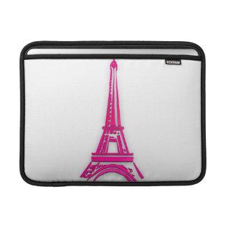 3d Eiffel tower, France clipart Sleeve For MacBook Air