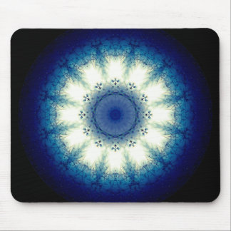 3D Eye Mandala Mouse Pad
