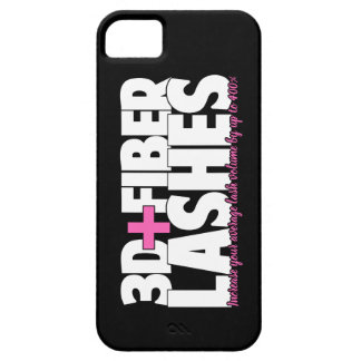 3D + Fiber Lashes Case For The iPhone 5