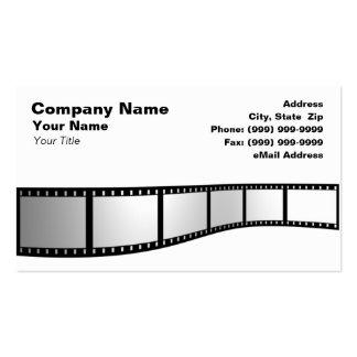 3D Film Strip Business Card