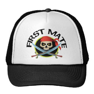 3D First Mate Trucker Hat