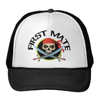 3D First Mate Trucker Hat
