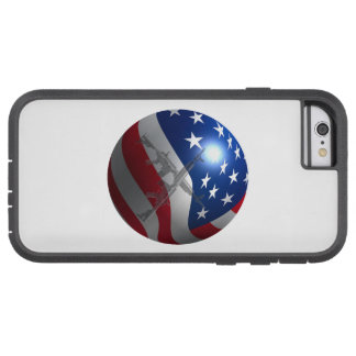 3D Flag Sphere Tough Xtreme iPhone 6 Case