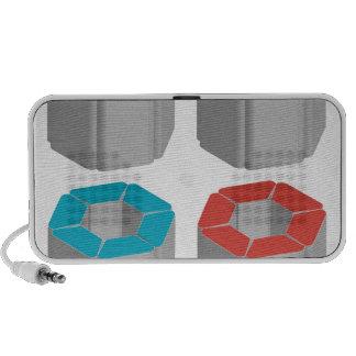 3d flora graphic iPhone speaker