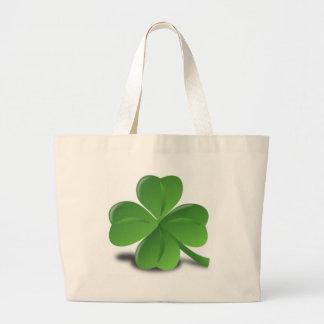 3D Four Leaf Clover Bags