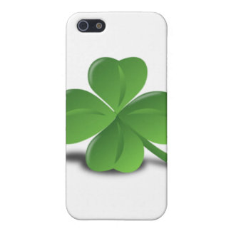 3D Four Leaf Clover Cases For iPhone 5