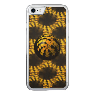 3d Fractal Ball Carved iPhone 7 Case