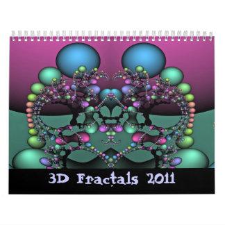3D Fractals 2011 Calendars