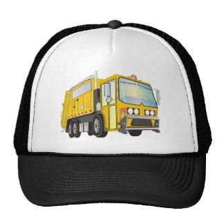 3d Garbage Truck Yellow Cap
