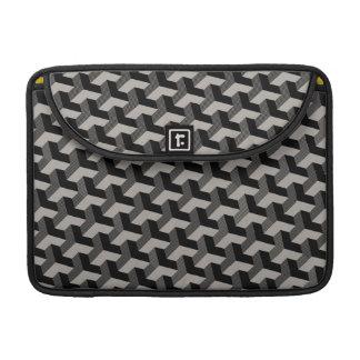 3D geometric printed laptop sleeve MacBook Pro Sleeves