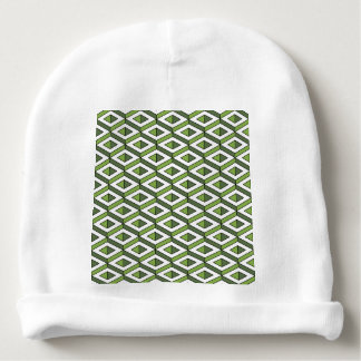 3d geometry greenery and kale baby beanie