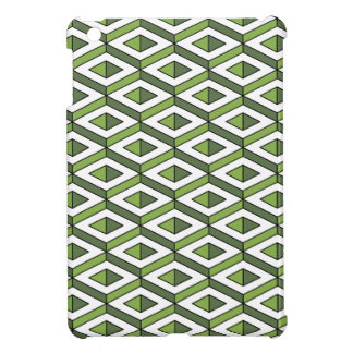 3d geometry greenery and kale cover for the iPad mini
