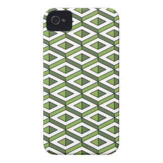 3d geometry greenery and kale iPhone 4 cover