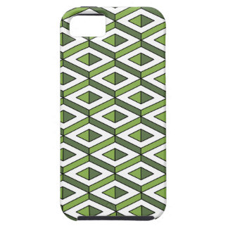 3d geometry greenery and kale iPhone 5 cases