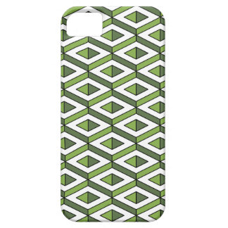 3d geometry greenery and kale iPhone 5 cover