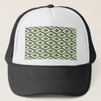 3d geometry greenery and kale trucker hat