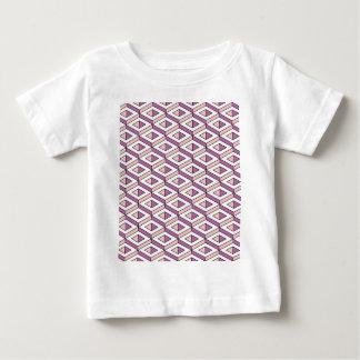 3d geometry rose quartz baby T-Shirt