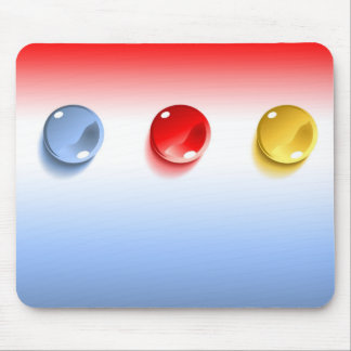 3d Glass Balls Mouse Pad