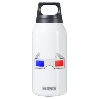 3D Glasses 0.3 Litre Insulated SIGG Thermos Water Bottle