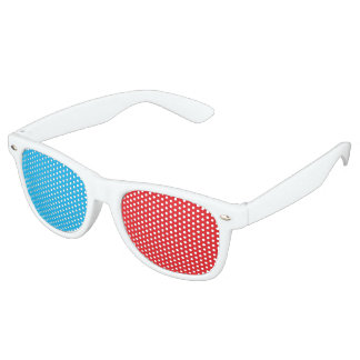 3D Glasses Aesthetic Retro Shades