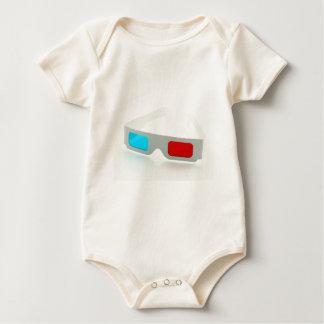 3D Glasses Baby Bodysuit
