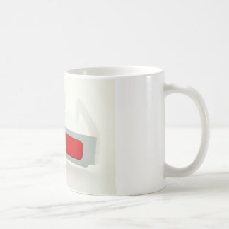 3D Glasses Basic White Mug